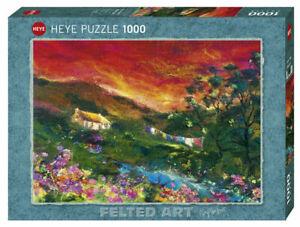 Heye Puzzles - 1000 Pièce Machine à Laver Lave Ligne (Feutré Art) HY29916