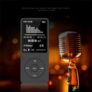 70-Hours-8GB-Playback-MP3-MP4-Lossless-Sound-Music-Player-FM-Recorder-TF-Card-US