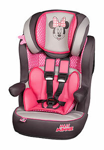 Disney-Minnie-Mouse-Pink-I-Max-Imax-SP-1-10yr-Baby-Child-Car-Seat-Booster