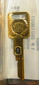 Rare-Cadillac-Gold-Key-2-VATS-Ignition-key-for-Brougham-Fleetwd-Sev-Eldo