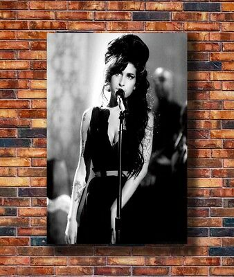 T2642 20x30 24x36 Silk Poster Amy Winehouse Music Star Art Print