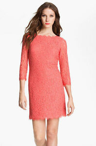 Image Is Loading Nwt Diane Von Furstenberg Dvf Zarita Lace Dress