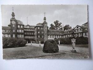 Ansichtskarte-Schwetzingen-Schloss-Eingang-1967