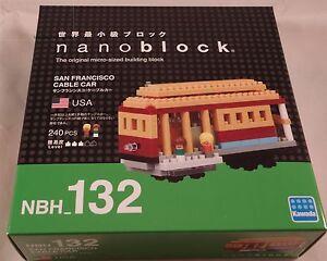 Kawada Nanoblock SAN FRANCISCO CABLE CAR building toy block  NBH_132 Worldwide