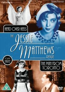 The-Jessie-Matthews-Revue-The-Man-from-Toronto-Head-Over-Heels-NEW-DVD