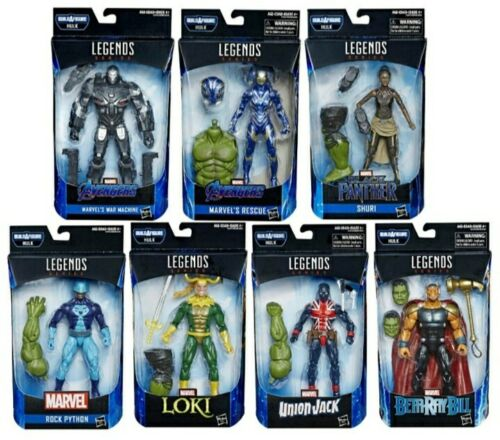 Marvel Legends Avengers Issue Hulk BAF Wave 2 Set of 7 Brand New Neuf Sous Emballage