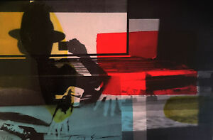 "TONY SOULIE LITHOGRAPHIE ORIGINALE N-S ""CINEMA "" JAYpdKpy-09155101-250877795"