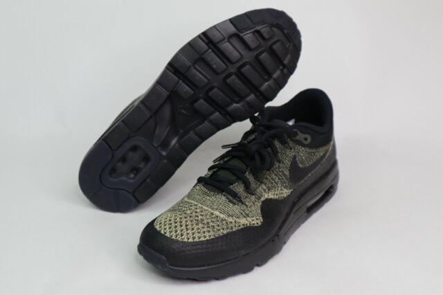 Nike Air Max 1 Ultra Flyknit Neutral OliveBlack 856958 203 Men's Size 12