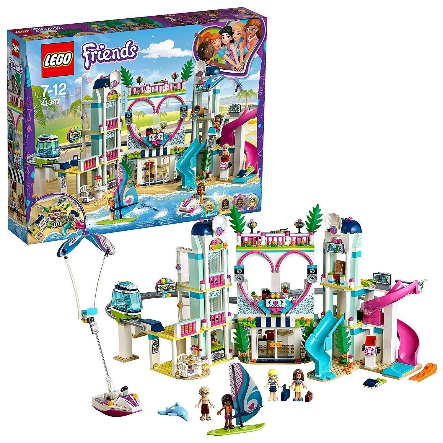 LEGO 41347 Friends Heartlake City Resort Playset, Stephanie Andrea Olivia