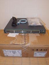 NEU Cisco Catalyst WS-C2960S-48LPS-L Switch 48xGIGABIT PoE+4xSFP Ports NEW OPEN