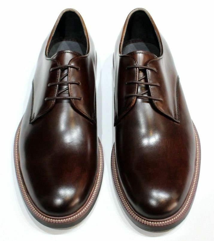 John White Cannon Men's Round toed Brown Leather Derby shoes