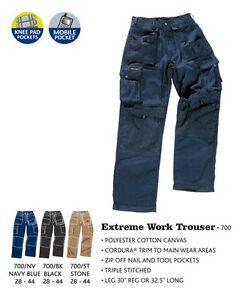 Stuff Cordura Extrême Pantalon Tuff Résistant Poche Coussin Genou Travail Tfq7Z0Wgd