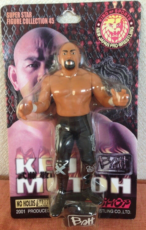 Keiji Mutoh BATT NJPW Figure Collection 45 Charapro Brand New MOC Great Muta