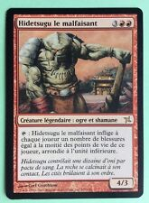 MTG MAGIC Carte HIDETSUGU LE MALFAISANT Heartless Traites KAMIGAWA 81/165