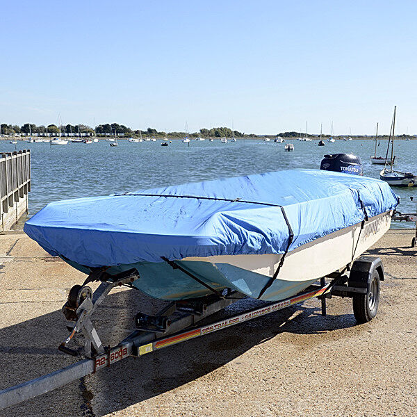 DORY STYLE BOAT COVER UP TO 13.5FT (420CM) SUPERIOR QUALITY 005