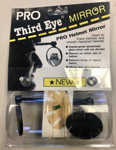 "/""New/"" THIRD EYE Pro Helmet Mirror Helmet Mount Cycling Mirror"