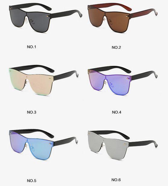 Agstum para Mujer Hombre pasarela muestra una pieza nueva moda Gafas de sol 1819