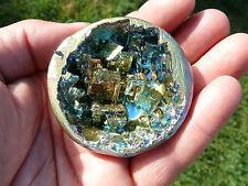 TOP - sehr große und schöne Wismut-Kristalldruse - 240g