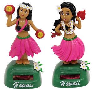 Détails Sur 2pcs Figurine Fille Hawaii Solaire Jouet Décoration Cadeau Anniversaire Fête