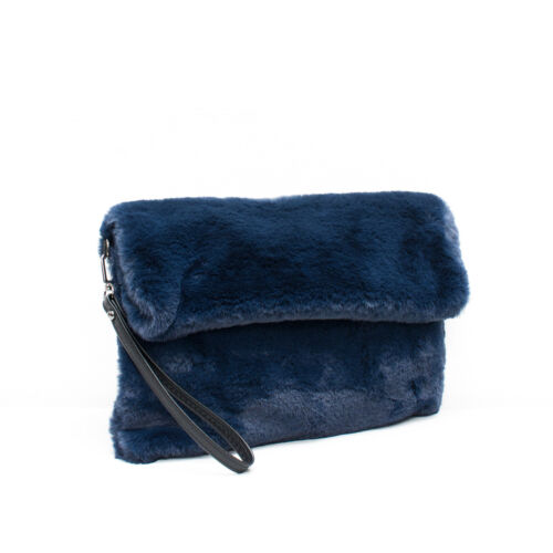 2019 Faux Fur Clutch Bag Free UK Delivery