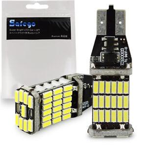 Safego 2X 1000 lumens Canbus Lamp Error Free 921 T10 T15 LED SMD 4014 W16W