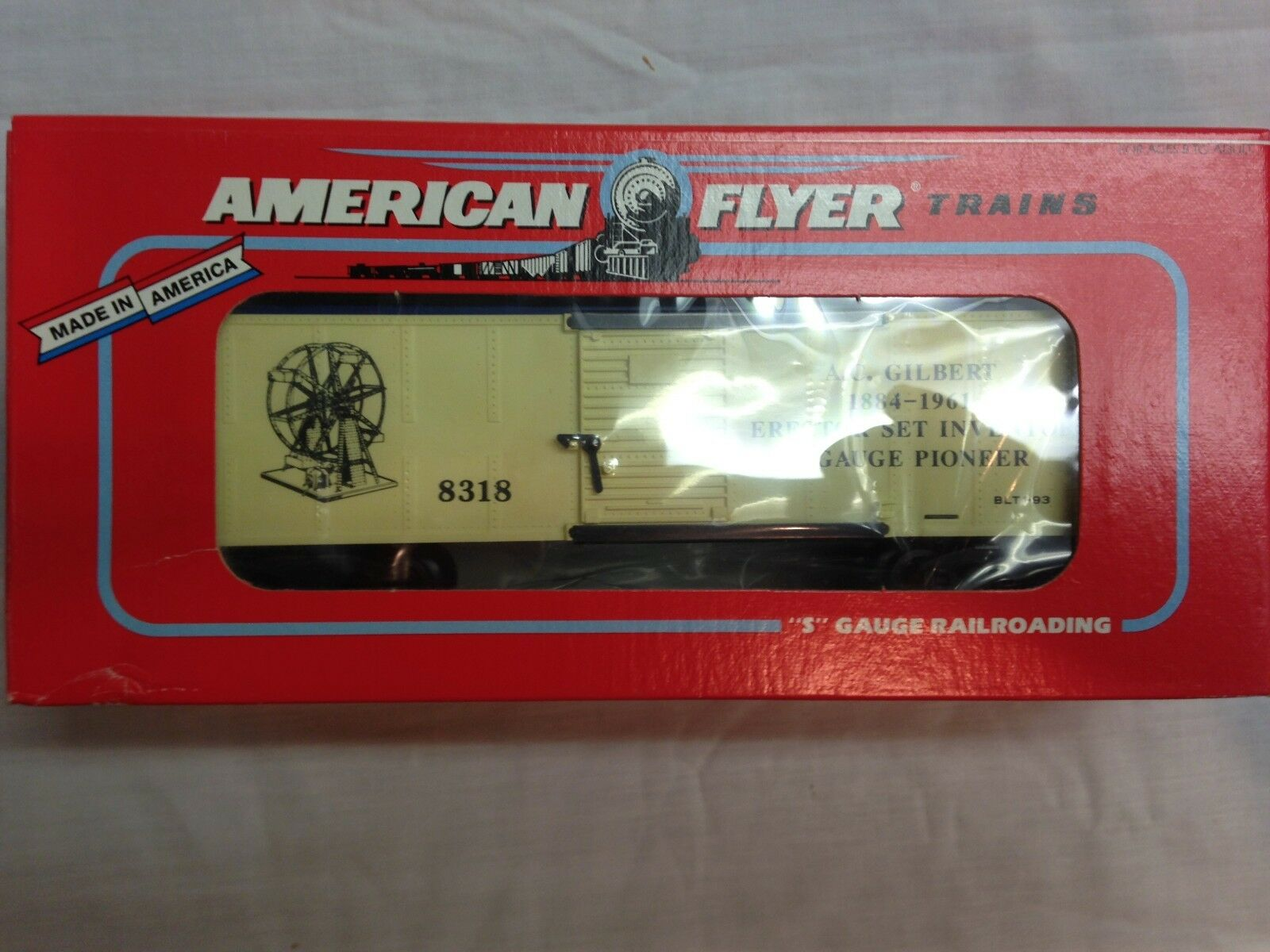 American Flyer Lionel 48318 1998 A.C. Gilbert Boxcar