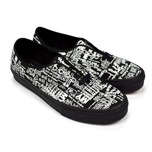 246ed5835b5117 NWT Comme des Garcons CDG Vans Authentic LX Men s Message Graffiti ...