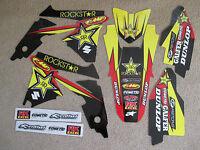 Team Rockstar Suzuki Graphics Rmz450 2008 2009 2010 2011 2012 2013 14 15 16
