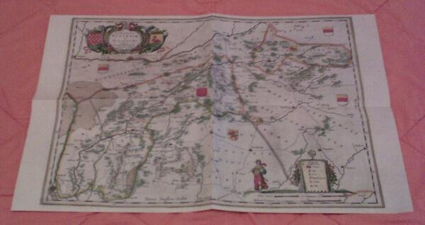 Freundschaftlich Das Gebiet Bentheims Am Beginn Des 17. Jahrhunderts - Replikat