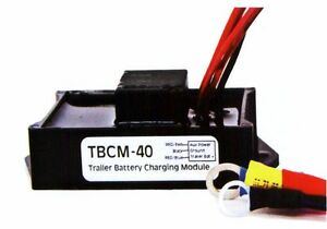 Trailer Battery Isolating Charging Module Prevents Dead