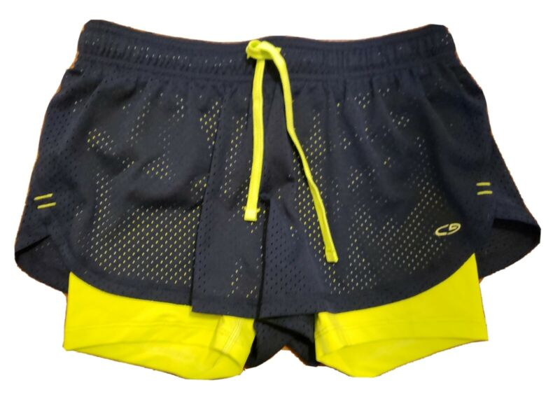 Lovely Champion Mesh Athletic Fitted Spandex Lining Shorts Size S