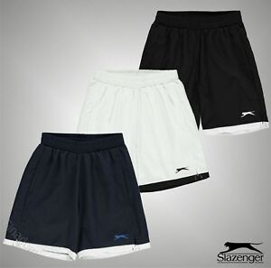 Junior-Garcons-Slazenger-ACTIVE-FIT-Tennis-Short-Taille-Bas-7-13-Ans
