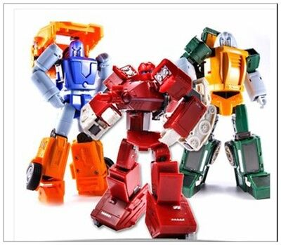 New Transformers FinalVictory FV Three warriors Wardog Huff Brawn Toysets