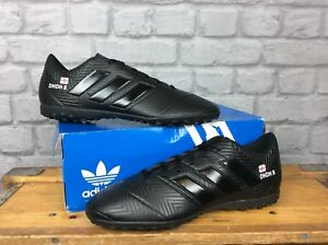 f27a074869ad Details about ADIDAS MENS UK 8 EU 42 NEMEZIZ 18.4 FG BLACK FOOTBALL BOOTS  PERSONALISED