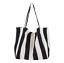 miniature 16 - Women-Large-Canvas-Shopping-Bag-Fashion-Striped-Cloth-Reusable-Tote-Bag