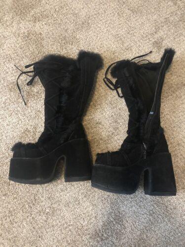 Demonia Black Gogo Boots