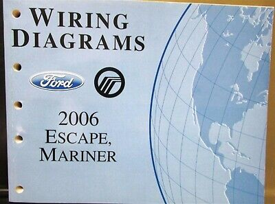 2006 Ford Mercury Dealer Electrical Wiring Diagram Service ...