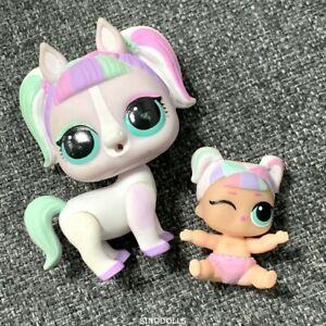 LOL-Surprise-Poupee-Lil-Unicorn-Sis-amp-Unipony-Pony-w-Pet-Licorne-Doll-Toy-Jouet