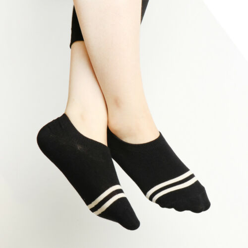 Women/'s No Show Liner Socks Thin Low Cut Casual Socks Non Slip Socks 5 Pairs