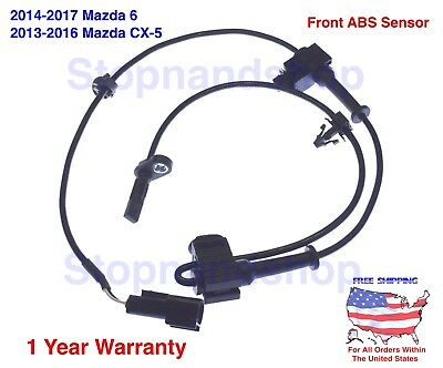 NEW ABS WHEEL SPEED SENSOR For 2014-2017 Mazda 6 Rear Right Left Side