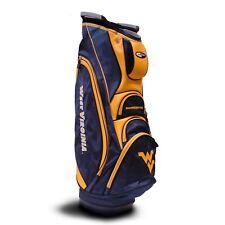 e39066198bb1a8 BRAND NEW Team Golf NCAA West Virginia Mountaineers Victory Cart Bag 25673
