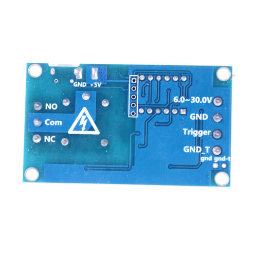 6v-30v Relay Module Switch Trigger Time Delay Circuit Timer Cycle Adjustable NEW