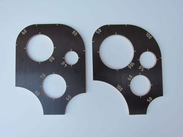 Lochschablone Schablone im Set für Oberfräse konkave konvexe Ecken abrunden