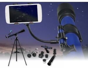 Bresser skylux 70 700 refractor telescope 70mm smartphone holder