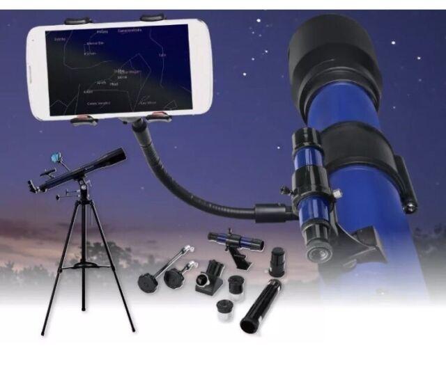 Bresser skylux telescope refractor smartphone holder