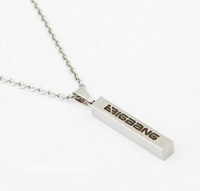 BIGBANG G-dragon gd top taeyang daesung seungri titanium steel NECKLACE KPOP