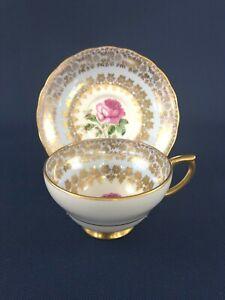 Mid-Century Modern Windsor bone china cup & saucer 188/59A England c.1950+
