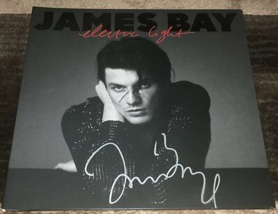 Objective James Bay Signed Autograph Electric Light Vinyl Record Album W/exact Proof Consumers First Autographs-original