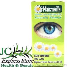De los para infecciones ojos manzanilla