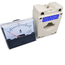 Us Stock Analog Panel Amp Current Meter Gauge Dh670 200a Ac Current Transformer